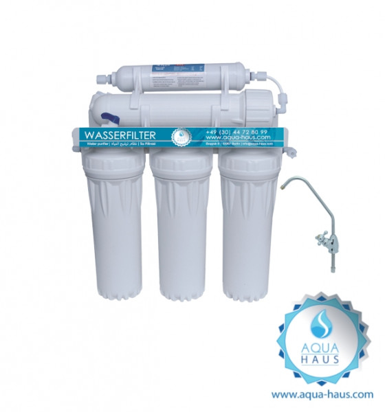 Wasserfilter Ultrafiltrations-Anlage (UF) 5stufig (Aqua-Haus)