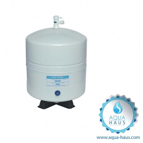 Vorratstank Wasserfilter Osmose-Anlage 3,2G (12,11 Liter) aus Metall (Aqua-Haus)