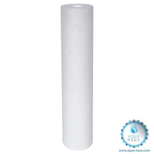 Sedimentfilter Filterkartusche 5 Micron (PP), 10 Zoll Ersatzfilter (Aqua-Haus)