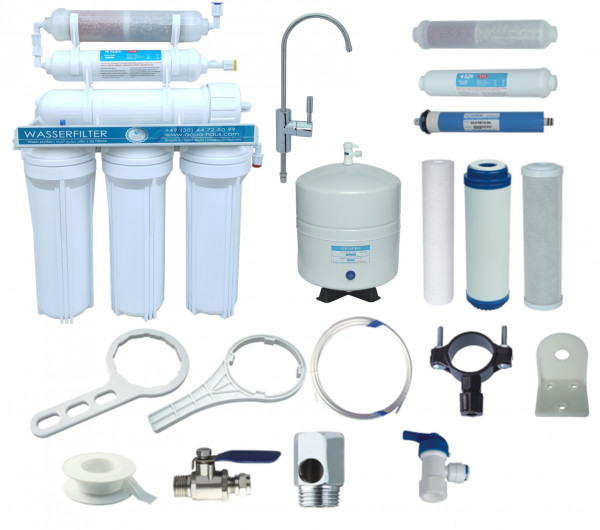 Wasserfilter-Umkehr-Osmose-Anlage (RO)